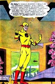 O Flash Reverso: principal vilão.