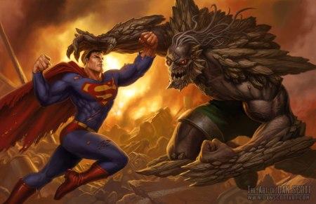 O monstro Doomsday pode estar no filme.