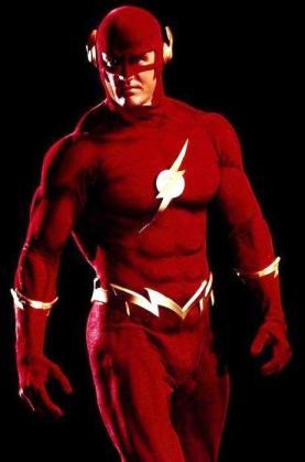 O Flash na TV por John Wesley Shipp.
