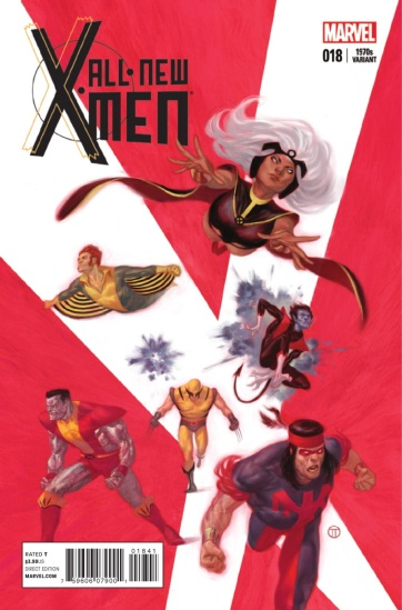 Capa comemorativa mostra a renovação dos X-Men nos anos 1970.