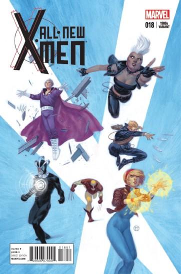 Capa com os X-Men do fim dos anos 1980, fase de grande sucesso de Claremont.