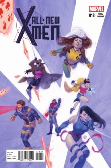 Capa com os X-Men típicos dos anos 1990, época de Jim Lee e apogeu do sucesso.
