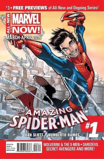 A volta (surpresa?) de Peter Parker.