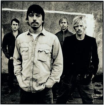 O Foo Fighters em 1999: já no topo do mundo.