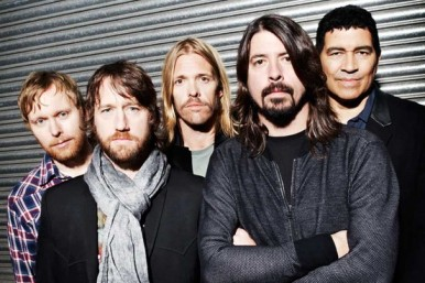 O Foo Fighters hoje.