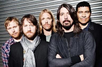 O Foo Fighters hoje.