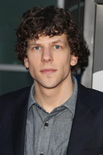 Jesse Eisenberg é o novo Lex Luthor.