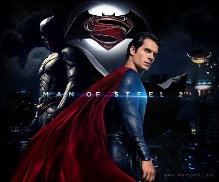 Batman Vs. Superman: poster criado por fã.