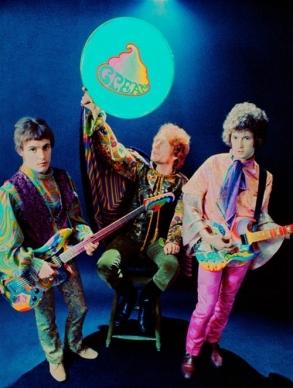 O Cream psicodélico em 1967.