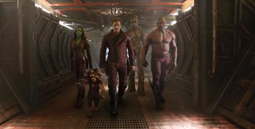 Os Guardiões no filme.