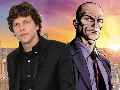 Jesse Eisenberg é Lex Luthor: vigiando os metahumanos.