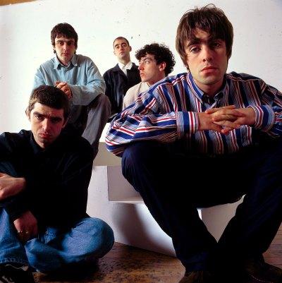 Ícones do britpop já em 1994.