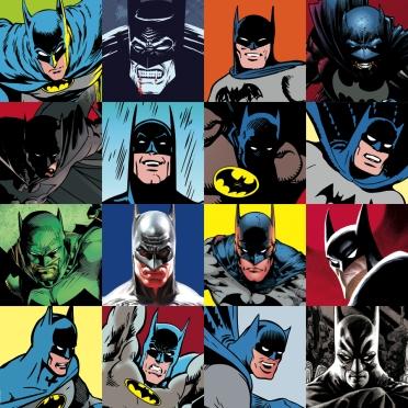 As várias faces de Batman ao longo de seus 75 anos.