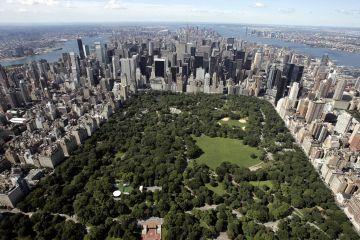 O Parque Robinson, pulmão verde de Gotham.