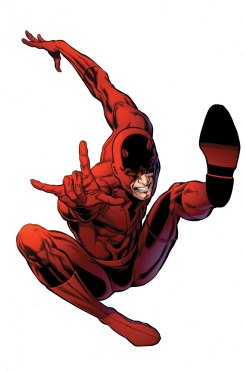 Demolidor: algumas das melhores histórias da Marvel. Arte de David Mack.