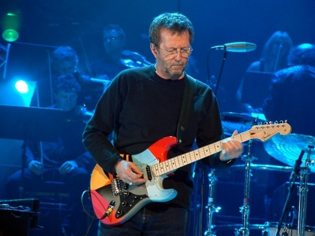 Eric Clapton: celebrando os 70 anos no Madison Square Garden.