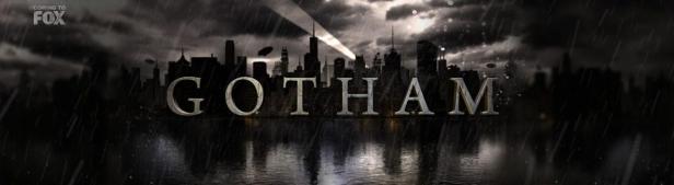 O logo de Gotham, a série de TV.