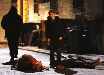 A morte dos pais de Bruce Wayne dará origem ao Batman.