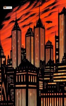 Gotham retratada nos quadrinhos.