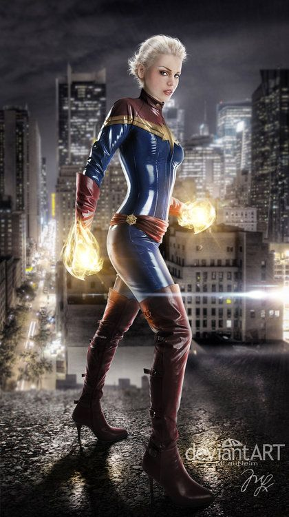 miss marvel new captain marvel uniform top cosplay