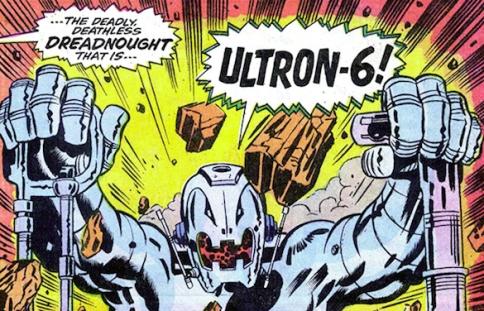 Ultron 6: adamantium.