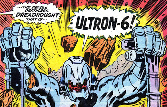 Ultron 6 by john buscema