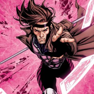 Gambit nos quadrinhos.