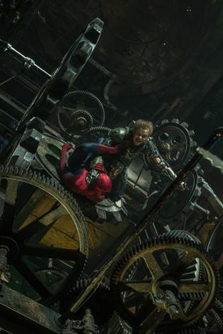 O Duende Verde e o Homem-Aranha: Sony insatisfeita.