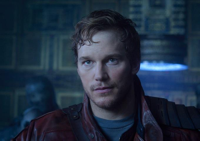 guardians of the galaxy peter quill close up