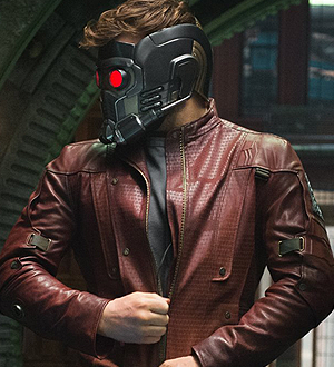 guardians of the galaxy star-lord helmet and jacket
