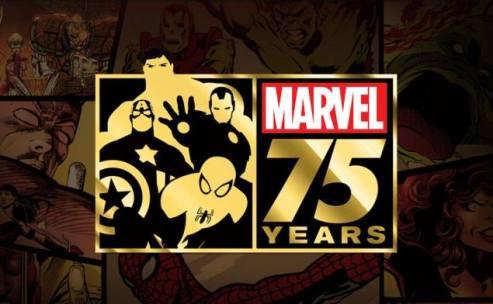 Marvel faz 75 anos.