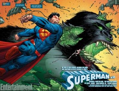 A dinâmica arte de John Romita Jr. pela primeira vez na DC Comics.