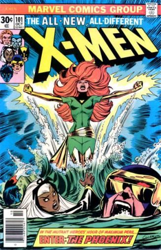 Capa de X-Men 101 coma estreia da Fênix.