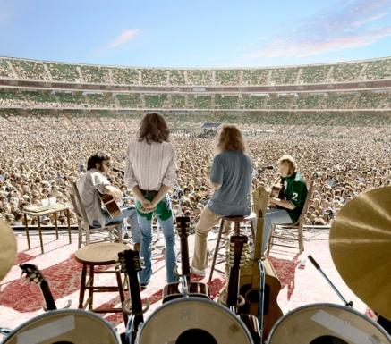 A banda enfrenta os estádios.