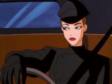 Mercy Graves em sua versão cartoon.