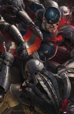 Capitão América reunindo novos Vingadores?