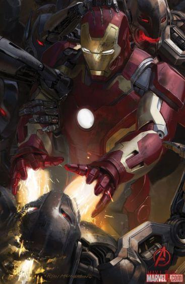 Homem de Ferro é o responsável pela criação de Ultron.
