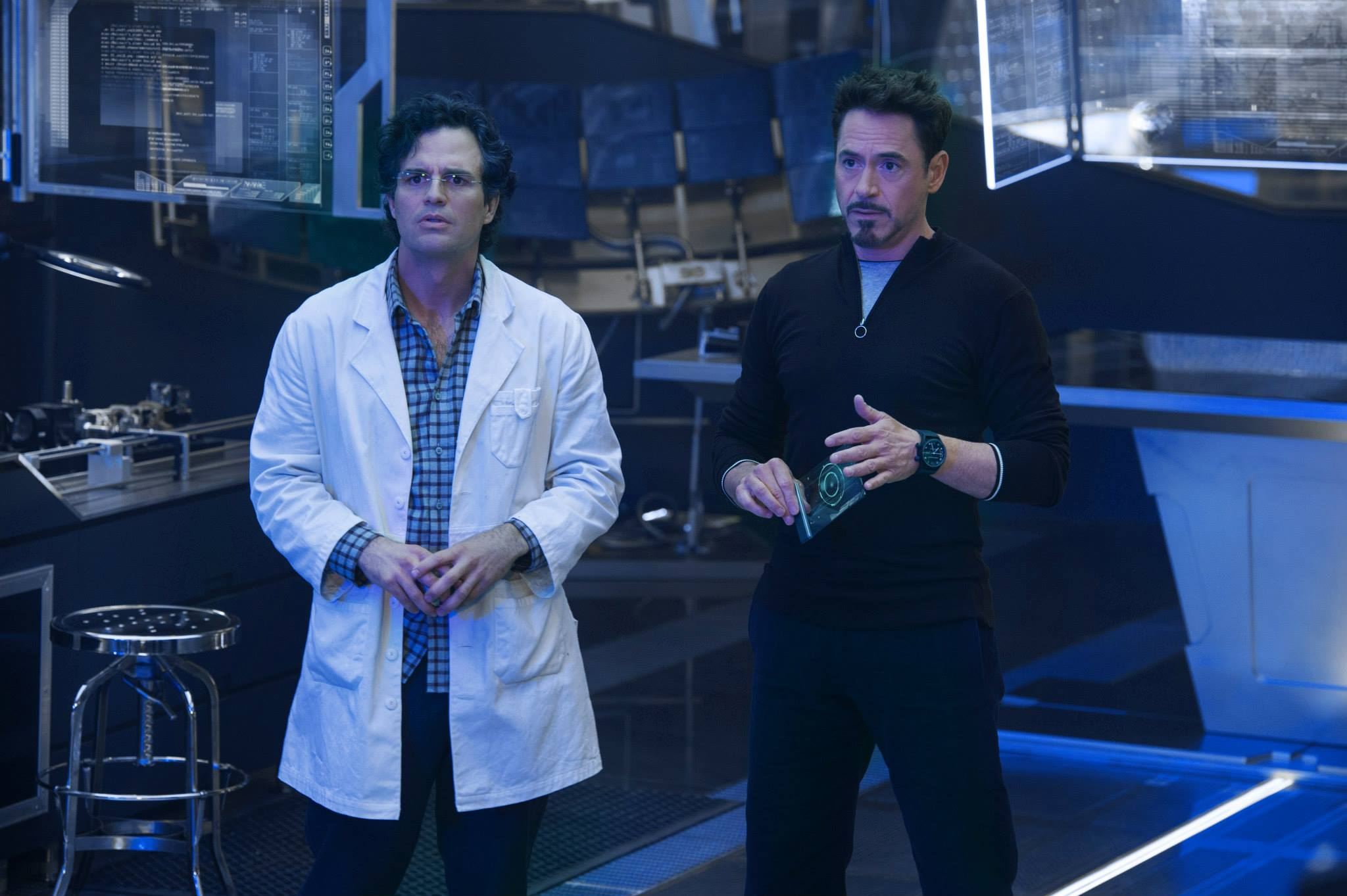 ageofultron official science bros stark and banner