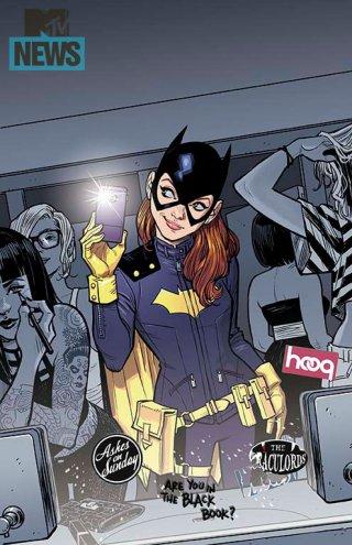 O novo visual da Batgirl: mais hipster.