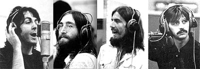 beatles abbey road sessions heads