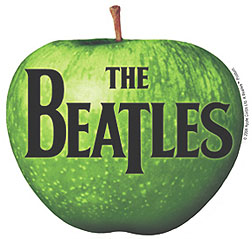 A logomarca da Apple dos Beatles.