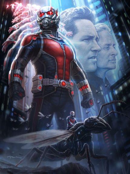 Poster oficial de Homem-Formiga.