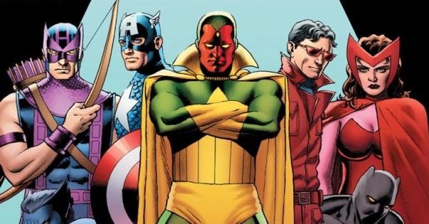 Os Vingadores nos quadrinhos: equipe mutante.
