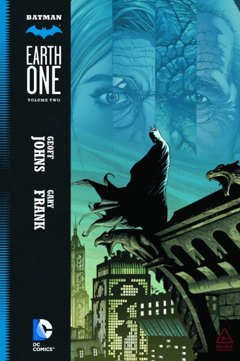 A capa do volume 2 de Batman Earth One, por Gary Frank.