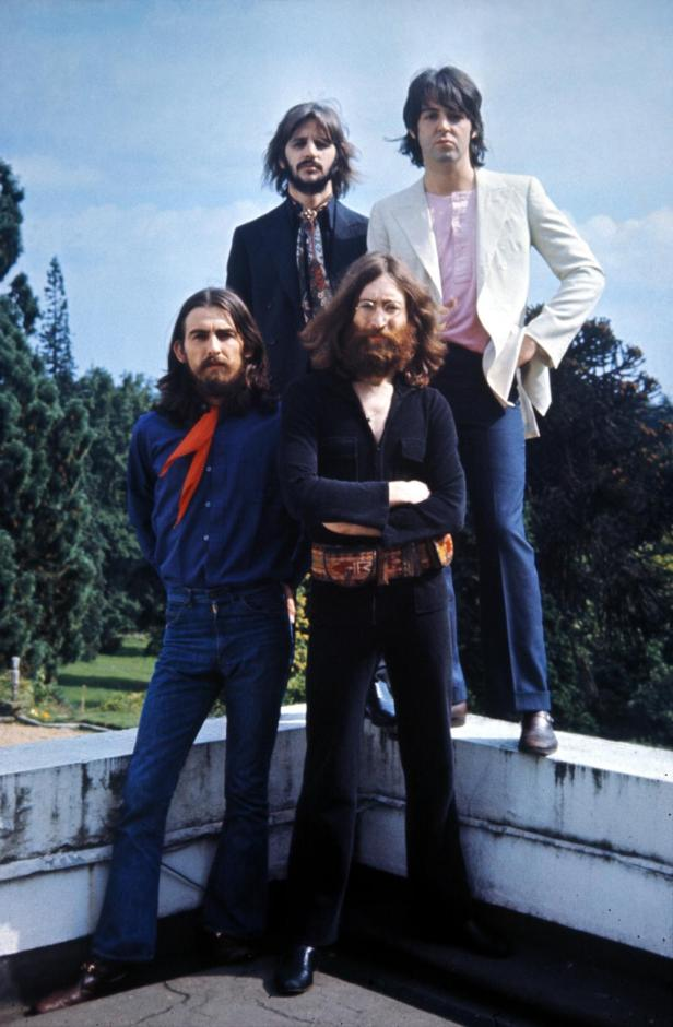 beatles-1969 last session on the roof
