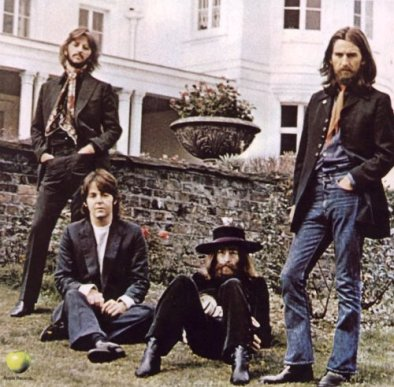 Imagem da última sessão fotográfica dos Beatles, em 22 de agosto de 1969.