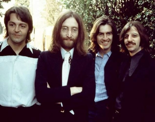 beatles-1969 smiling by linda mccartney