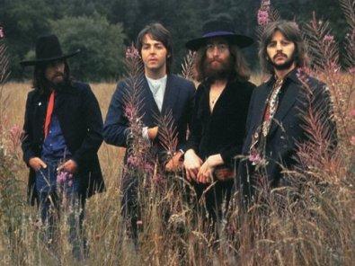 Uma das últimas fotos dos Beatles reunidos, em 1969.