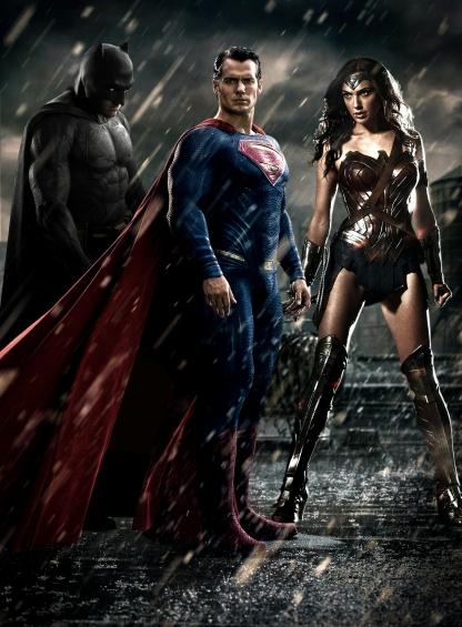 Batman, Superman e Mulher-Maravilha já se reunirão em Dawn of Justice. Liga da Justiça vem a seguir...
