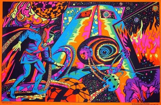 A arte original de Steve Ditko em Dr. Estranho.